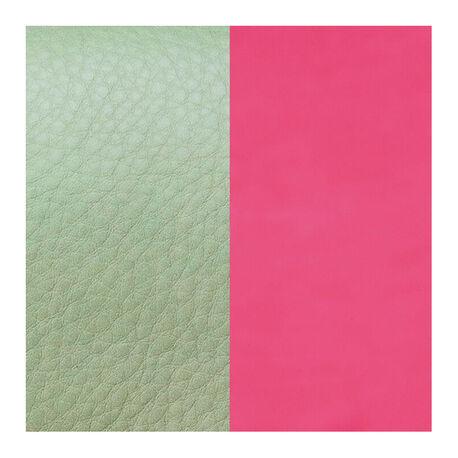 Les Georgettes leertje mosgroen roze 14mm