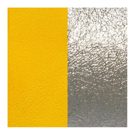Les Georgettes 25 mm leertje geel en silver