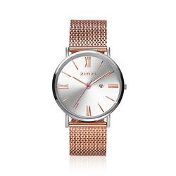 Zinzi Roman horloge rose mesh band ZIW512MR