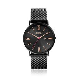 Zinzi gezwart Roman horloge ziw509m