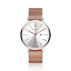 Zinzi Retro horloge roséverguld ziw412mr