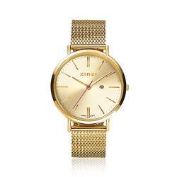 Zinzi Retro horloge gold ziw410m