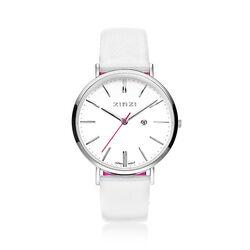 Zinzi Retro horloge wit ZIW406w