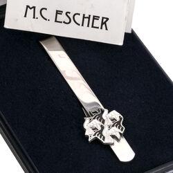 Zilveren dasschuif Escher