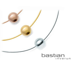 Verguld zilveren schuifhanger bol van Bastian Inverun