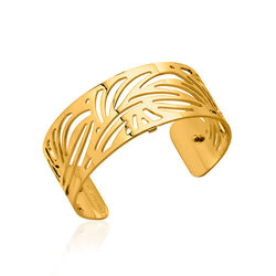 Les Georgettes 25 mm verguld stalen armband Aloes