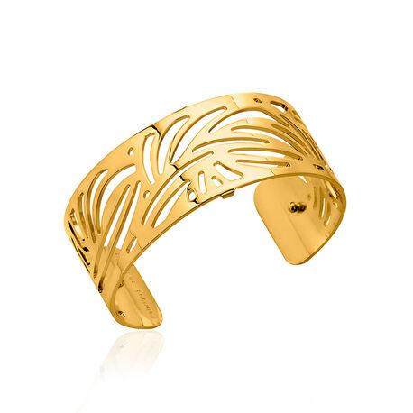 Les Georgettes 25 mm verguld stalen armband