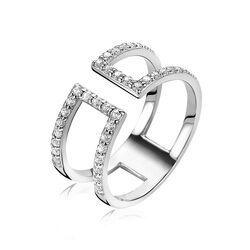Zinzi zilveren ring multi look zir1478
