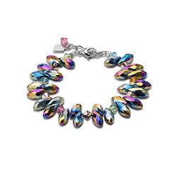 Armband multicolor Swarovski kristal van Coeur de Lion 4829-30-1500