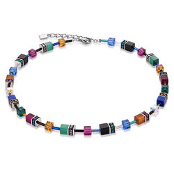 Coeur de Lion collier Geo Cube multicolor autumn 2838101556