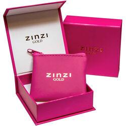 Gouden collier V-teken van Zinzi Gold