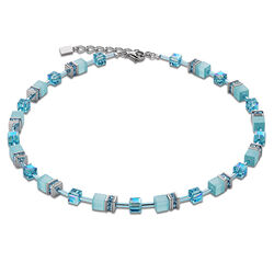 Coeur de Lion collier Turkoois blue 4322-10-2000