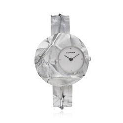 Lapponia zilveren horloge origami 668015