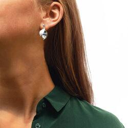 Zilveren oorstekers blossom drakenberg Sjolin