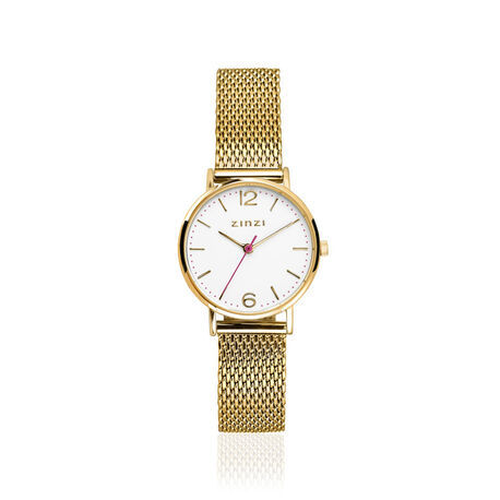 Zinzi horloge lady verguld ziw607m