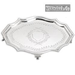 Klein zilver cabaret 18e eeuws antiek