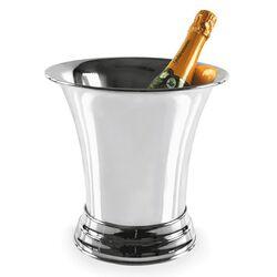 Verzilverde Wijnkoeler Filetranden