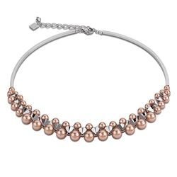 Elegantcoeur collier rose parels 4871-10-1620