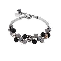 Coeur de Lion armband kristal agaat en onyx 4845301523