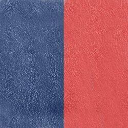 Les Georgettes 40 mm leertje roest en marine blauw