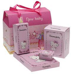 Luxe kraamcadeau pakket Charmmy Kitty 4 delig