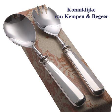 Zilver slacouvert Haags Lofje