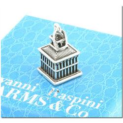 Zilveren bedel vogelkooi 25 mm van Raspini charms