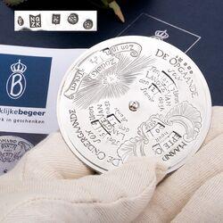Zilveren eeuwigdurende kalender