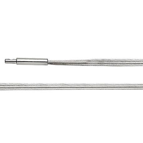 Bastian Inverun 3 strengen omega collier 45 cm