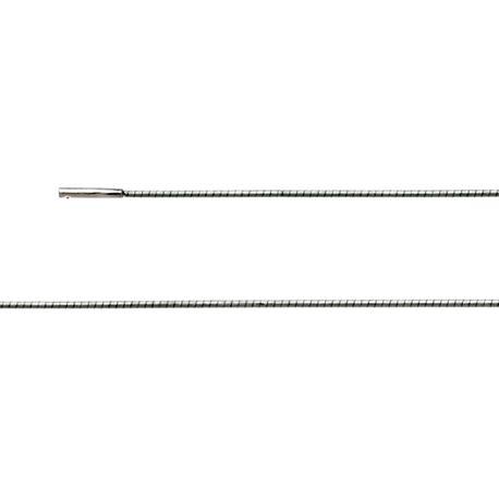 Zilveren omegacollier 42 cm  x 1.2 mm