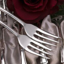 Zilveren taartvorkjes 12X
