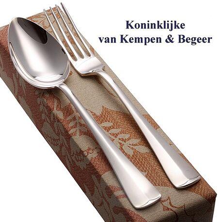 zilver dinercouvert model Haags lofje van Kempen en Begeer