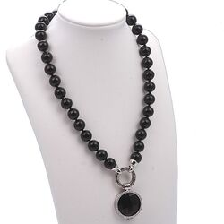 MY iMenso Complete Set 24mm Met Onyx Collier