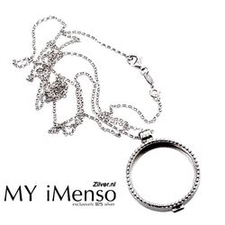 My Imenso Start Set Zilver 33mm.parelrand