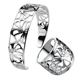 Zinzi Set Armband Met Ring Zir817 Zia817