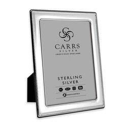 Zilveren fotolijst parelrand 18 X 13 cm