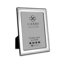 Zilveren fotolijst parelrand 15 X 10 cm Fr074/w