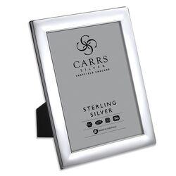 Zilveren Carrs fotolijst glad 20 X 15