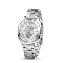 Vendoux horloge The Piazza Full Silver