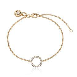 Christina armband circle gold