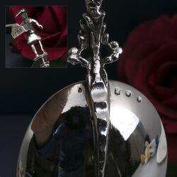 Zilveren gelegenheidslepel
