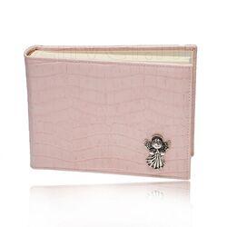 Giovanni Raspini roze fotoalbum met zilveren beschermengel