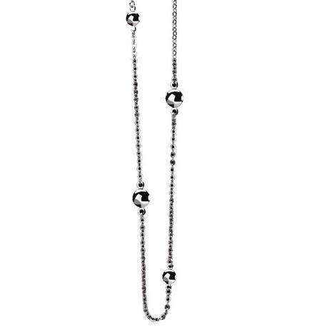 Zilveren ketting ronde plaatjes zic920-70 cm Zinzi