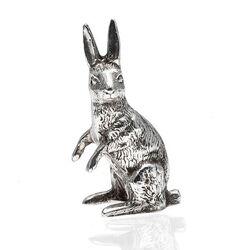Zilveren Tafelstuk Haas 6 Cm.