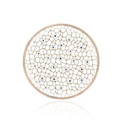 MY iMenso roseverguld zilveren honingraat insignia