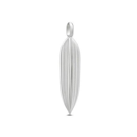 Julie Sandlau zilveren hanger Leaf