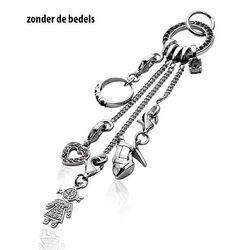 Zinzi Charms Hanger Zwart Zirkonia Ch-H22z