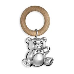 zilveren rammelaar beer