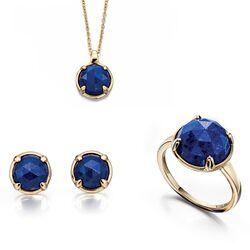 Fiorelli Gold set Lapiz Lazuli