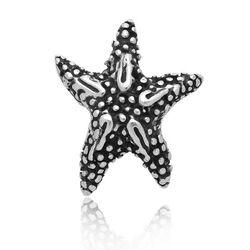 Zilveren schuifbedel zeester van Raspini charms